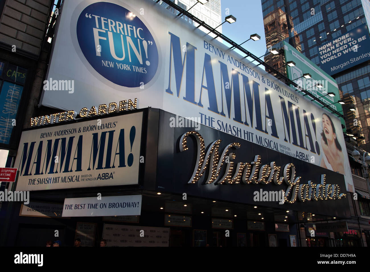 winter garden theater broadway midtown manhattan new york city usa - Winter Garden Theater Nyc