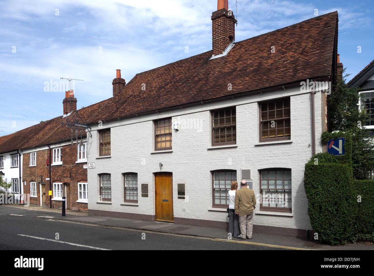 The Fat Duck Restaurant, High Street, Bray, Berkshire -1 Stock Photo