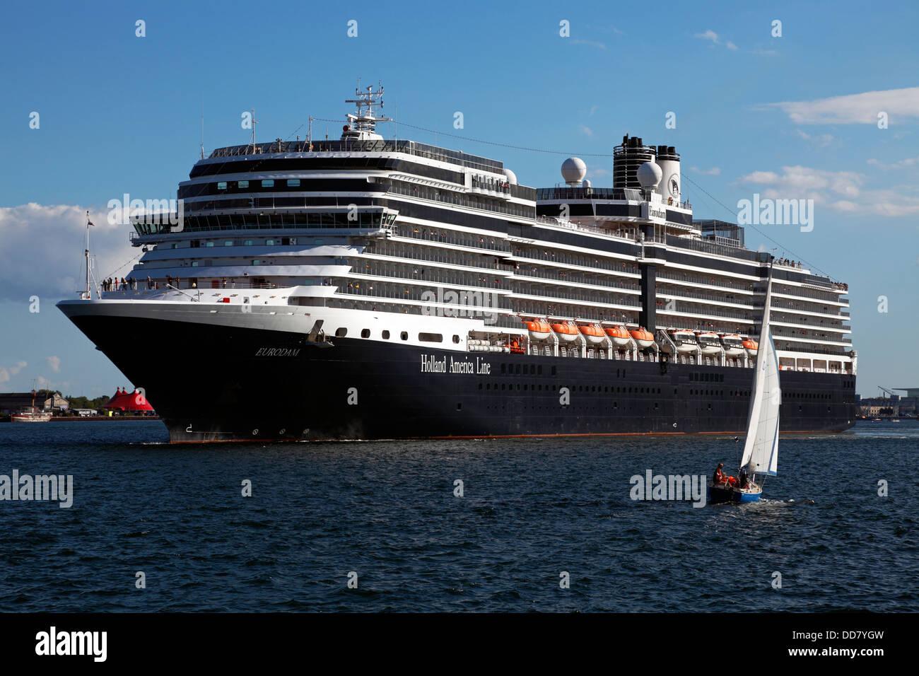 The Cruise Ship Ms Eurodam From Holland America Line
