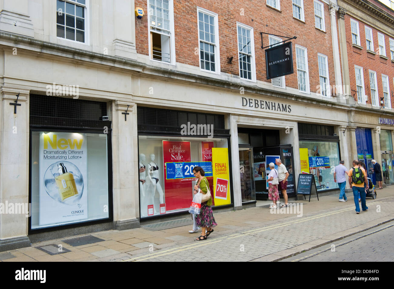 569697009dfca Exterior of DEBENHAMS department store in city centre of York North  Yorkshire England UK