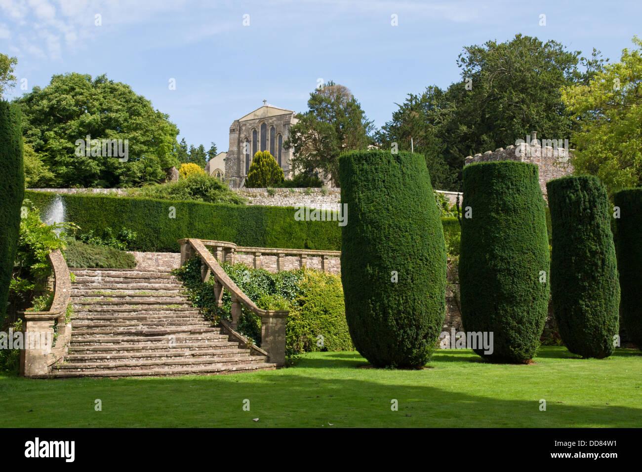 Berkeley Castle in Berkeley Gloucestershire England UK - Stock Image