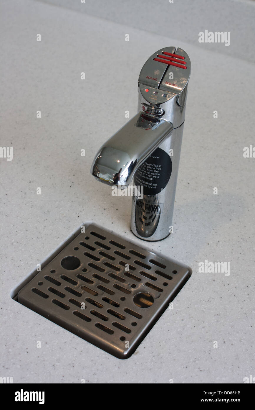 instant boiling water tap - Stock Image