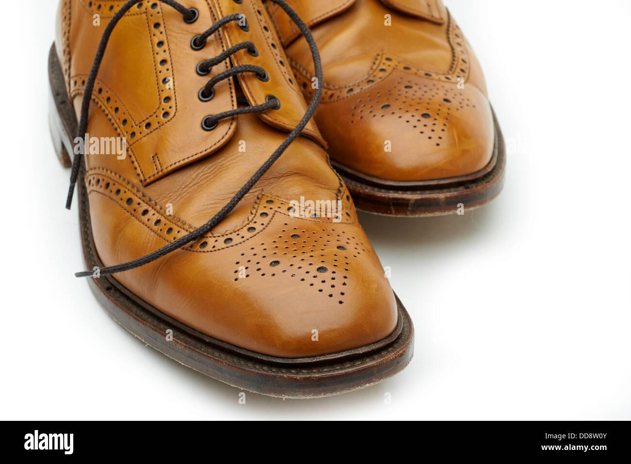 Loake shoes Brogues tan Classic english