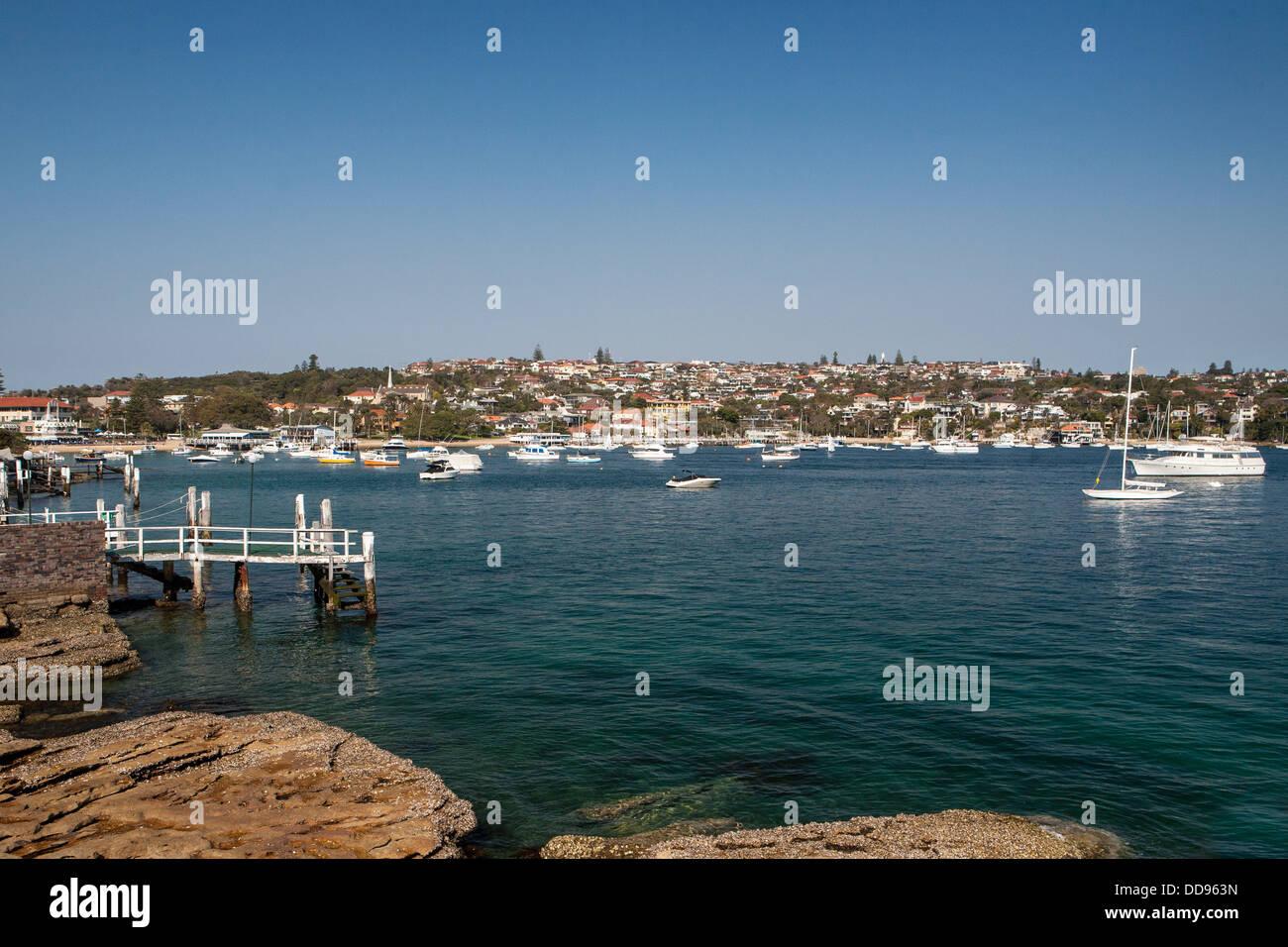 View across Watsons Bay in Sydney, Australia - Stock Image