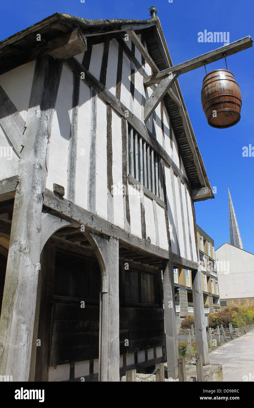 Medieval Merchant's House, Southampton, Hampshire, UK - Stock Image