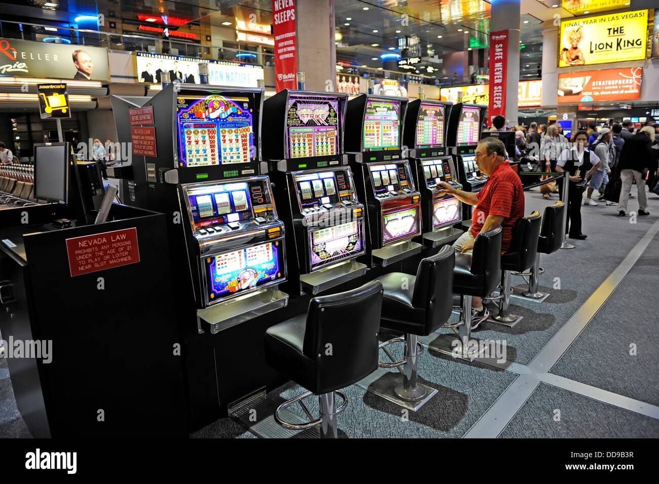 Is there a casino in las vegas airport how to play russian roulette in dayz