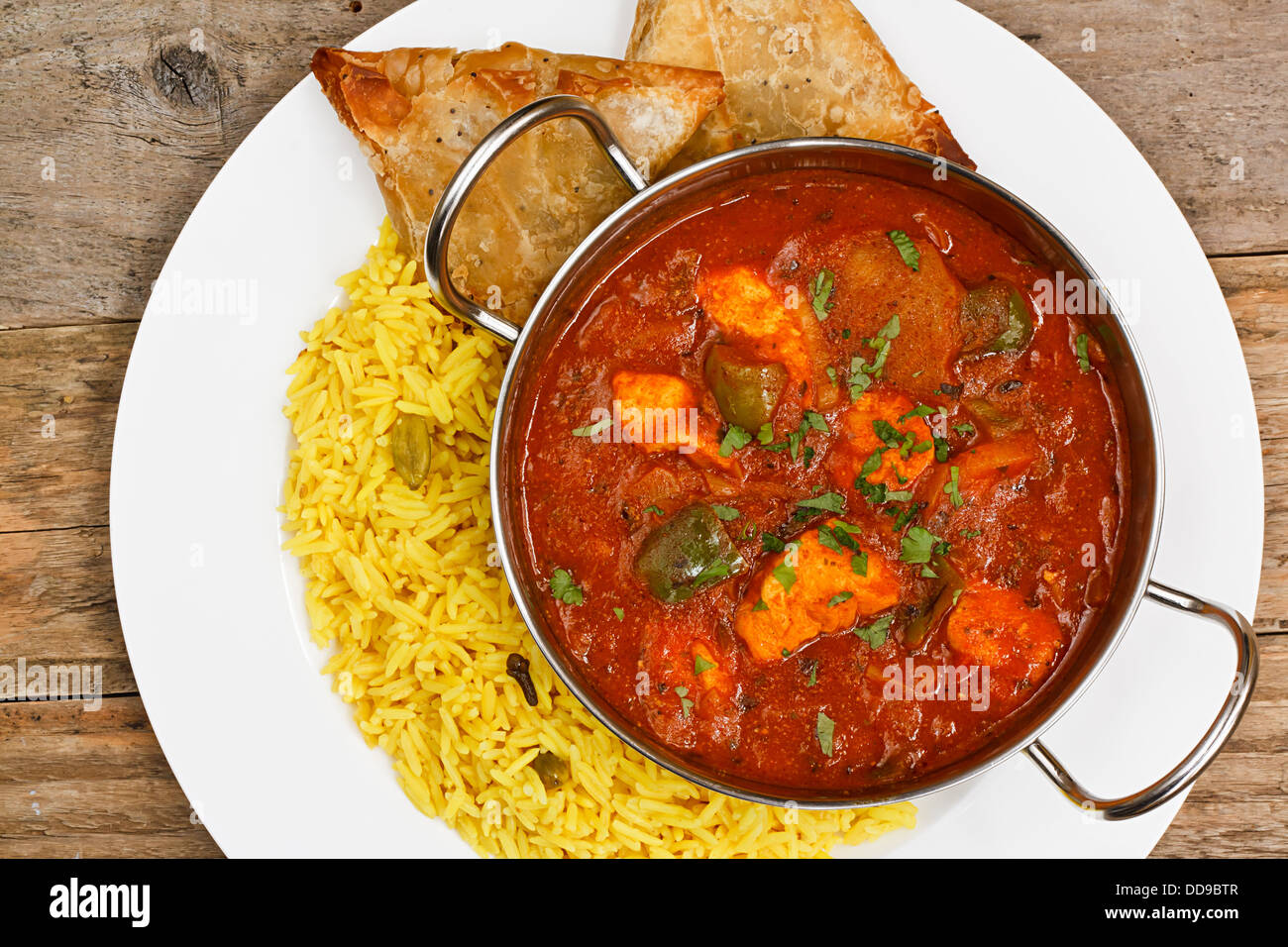 Chicken jalfrezi a popular eastern curry sauce dish from india stock chicken jalfrezi a popular eastern curry sauce dish from india forumfinder Choice Image
