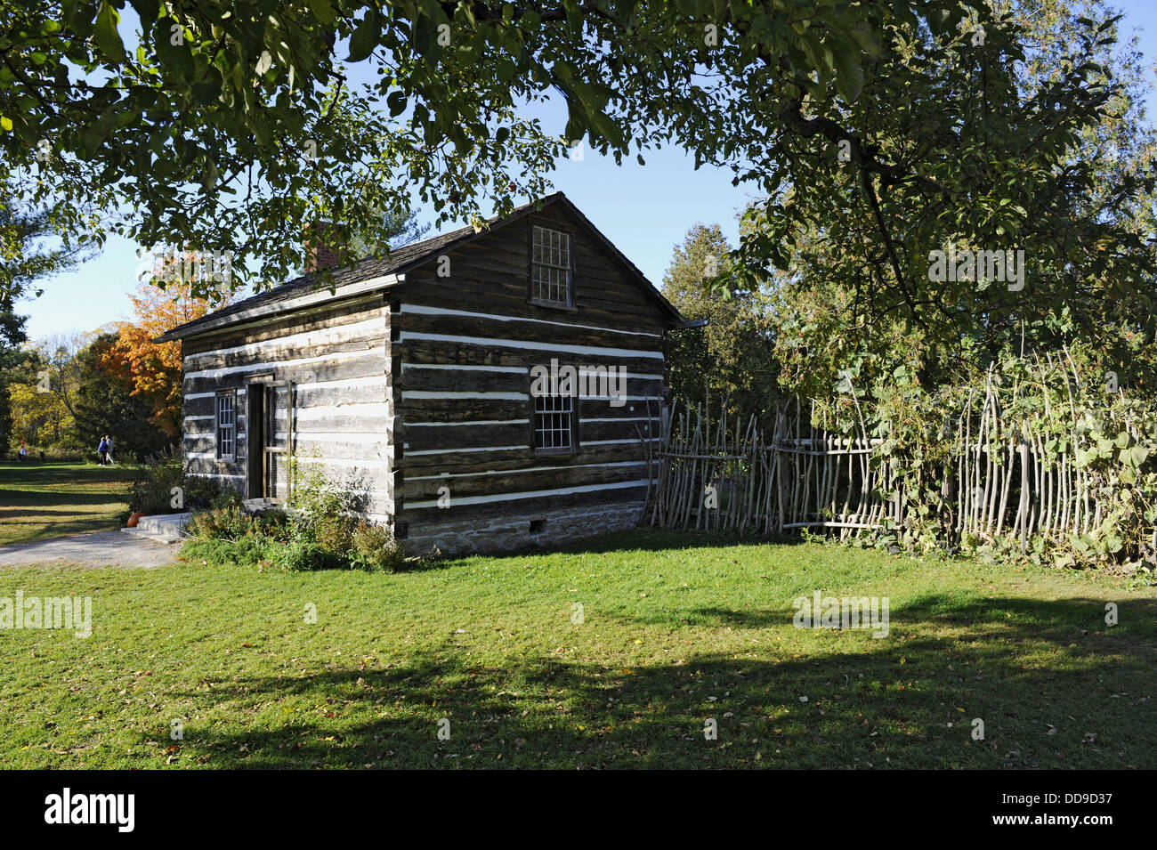 Balls Falls Conservation Centre Center Area Nature Waterfall History historical buildings townsite niagara region - Stock Image