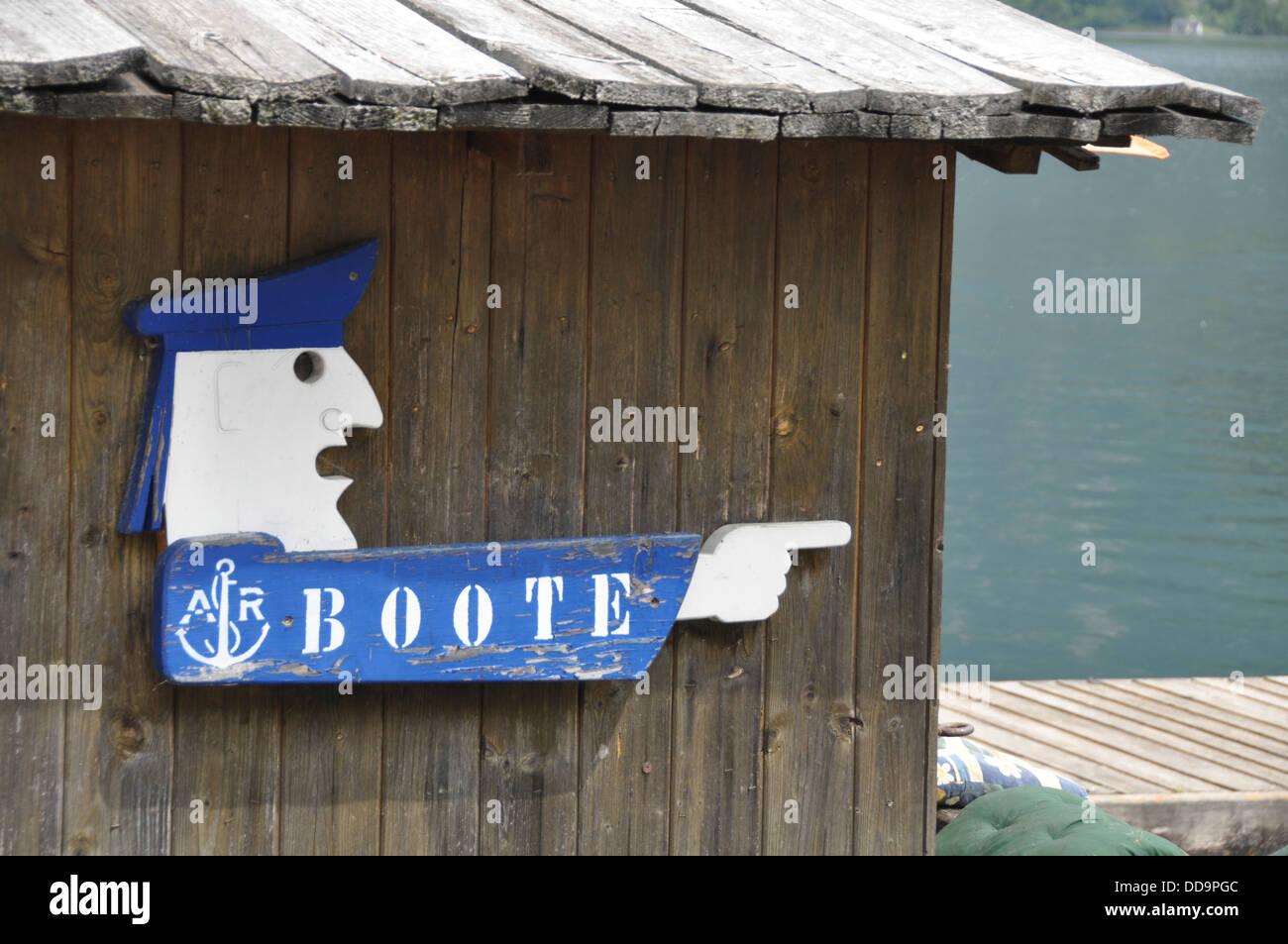 The town of Hallstatt, UNESCO World Heritage Site, Stock Photo