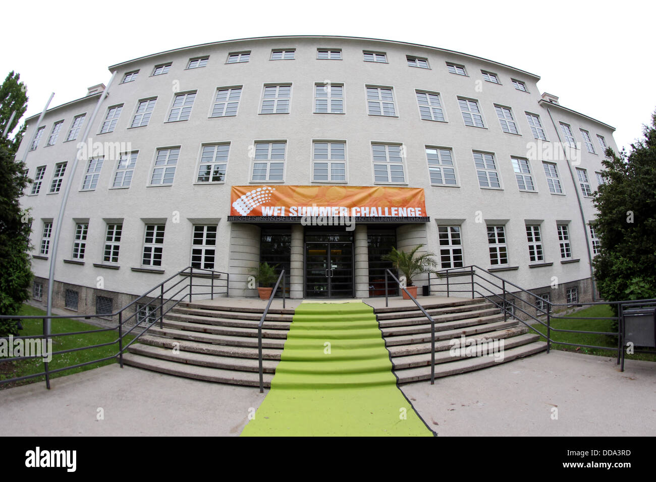 Germany: Faculty of Business Administration and Economics (WFI) of Catholic University of Eichstätt-Ingolstadt in Stock Photo