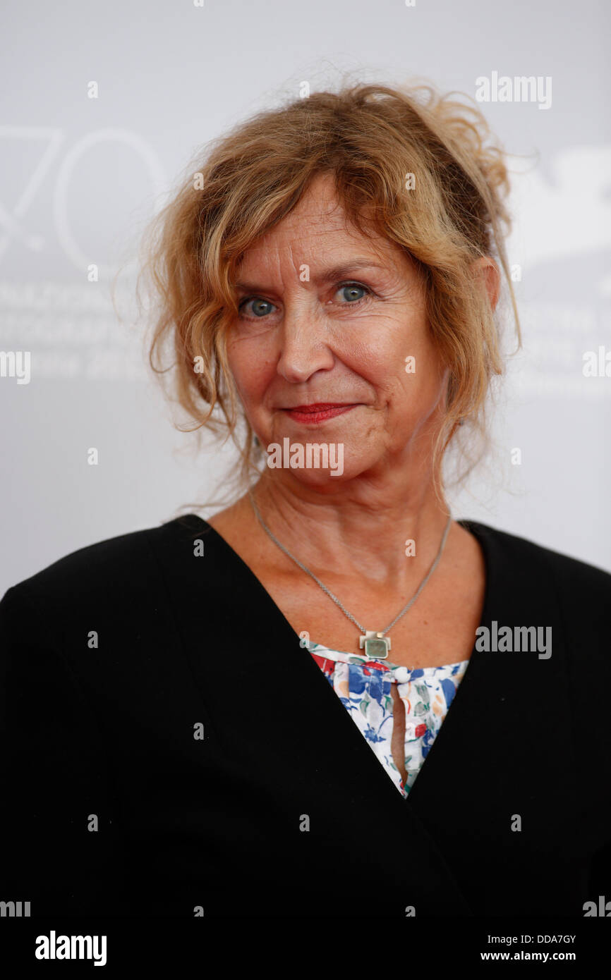 MARITA BREUER HOME FROM HOME PHOTOCALL 70TH VENICE FILM FESTIVAL LIDO VENICE  ITALY 29 August 2013 - Stock Image