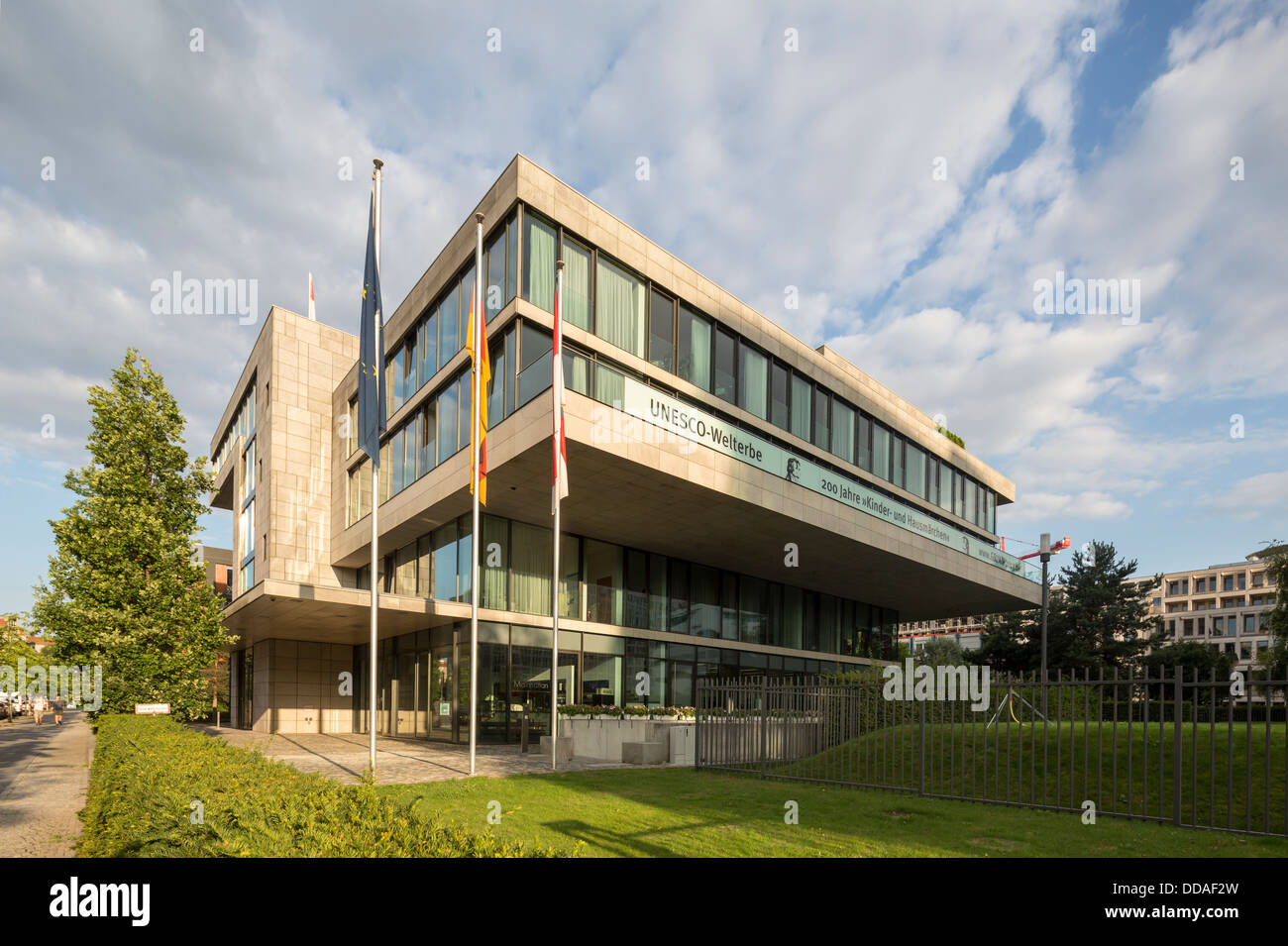 Hessian State government building Berlin, Germany - Stock Image