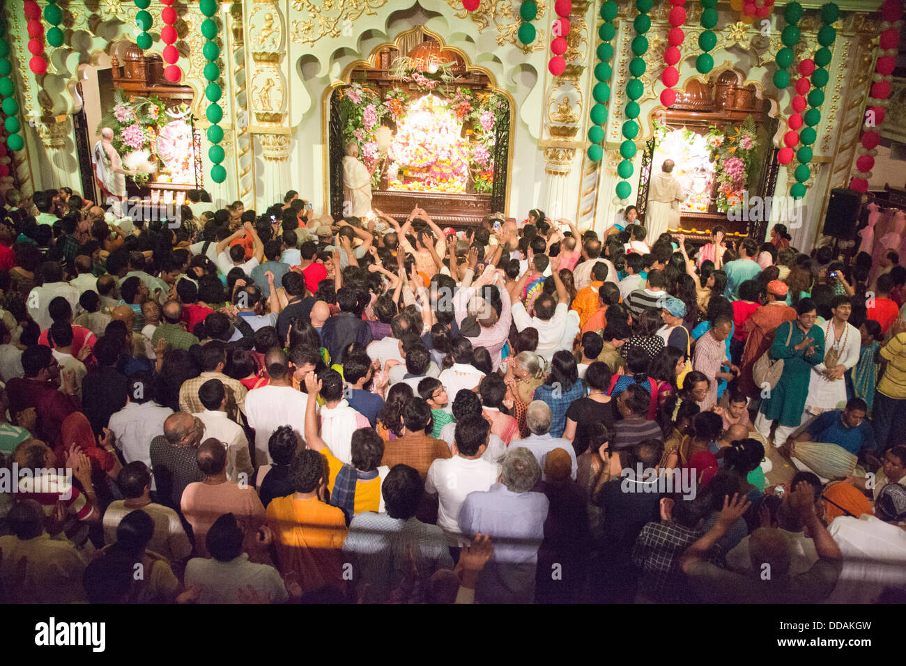 Toronto, Canada. 28th Aug, 2013. Janmashtami Celebrations at ISKCON Toronto © Nisarg Photography/Alamy Live News Stock Photo