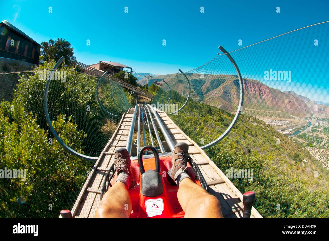 Canyon Flyer An Alpine Rollercoaster Glenwood Caverns Adventure