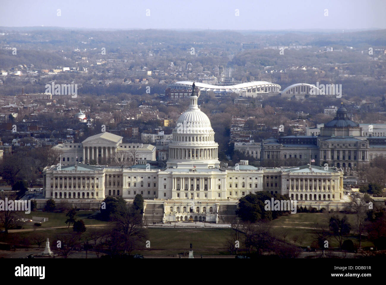 140f56b428 Aerial view of US Capitol Building