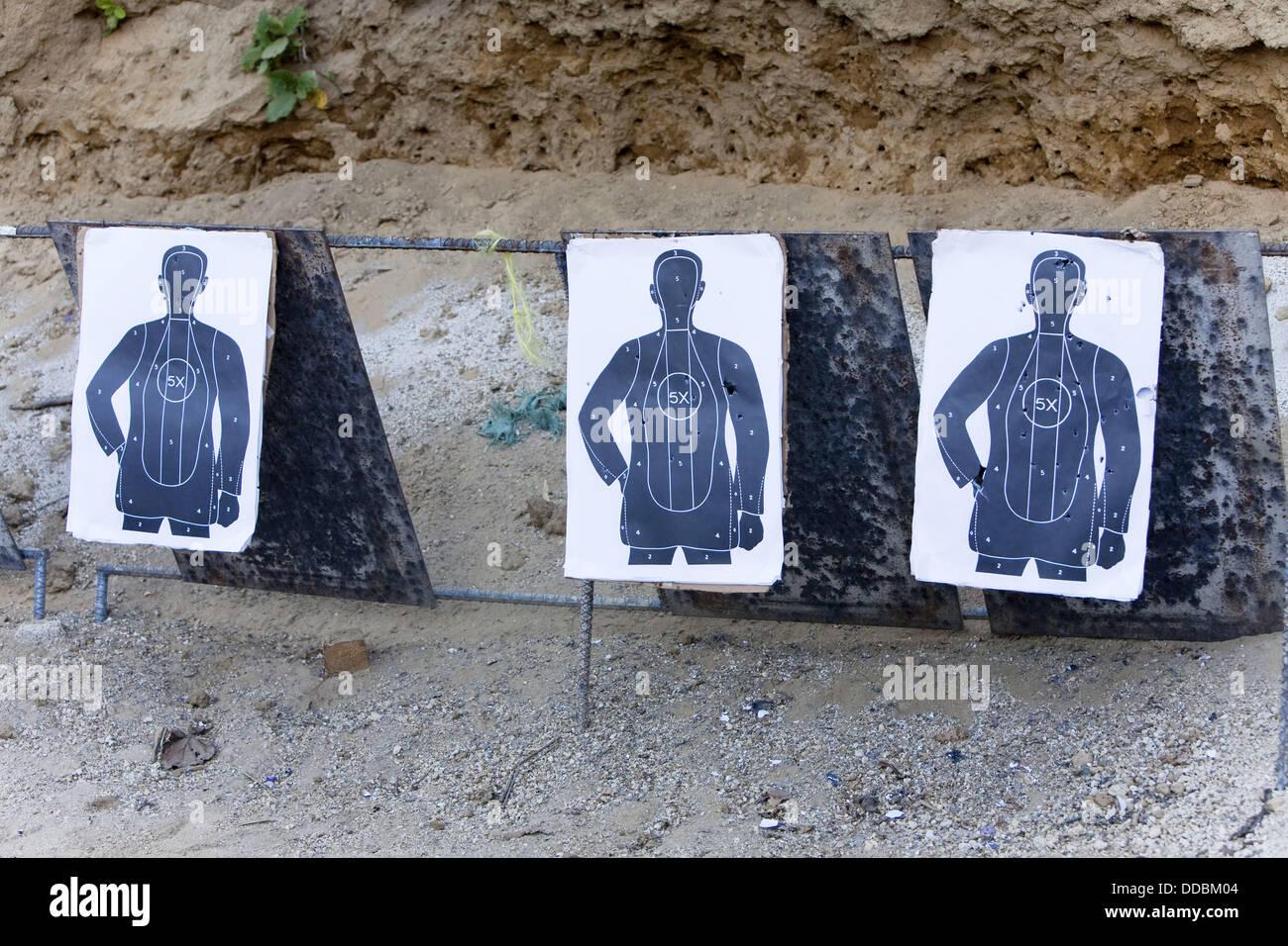 Target practice - Stock Image