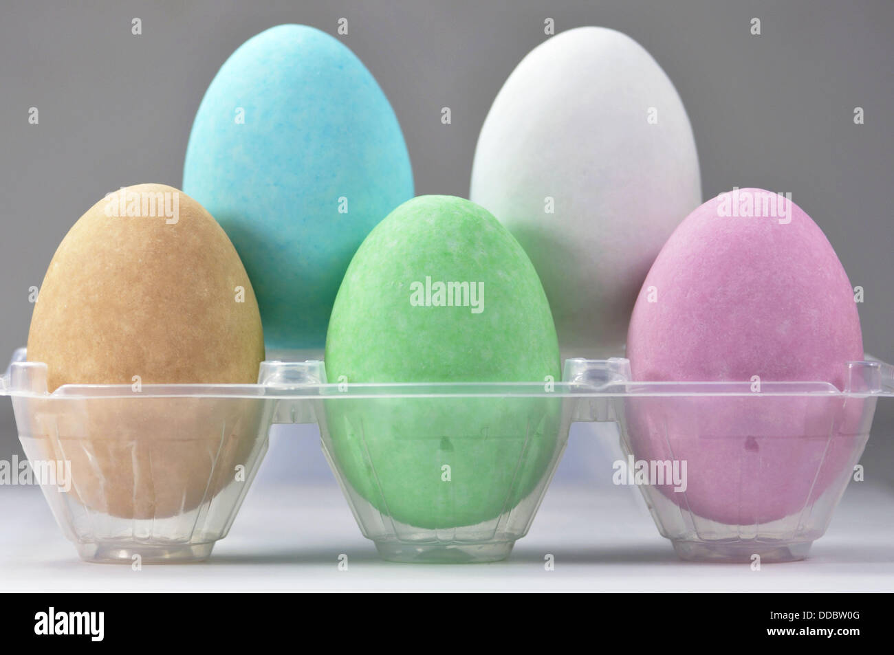 Sweet Easter Eggs, Close-up - Stock Image