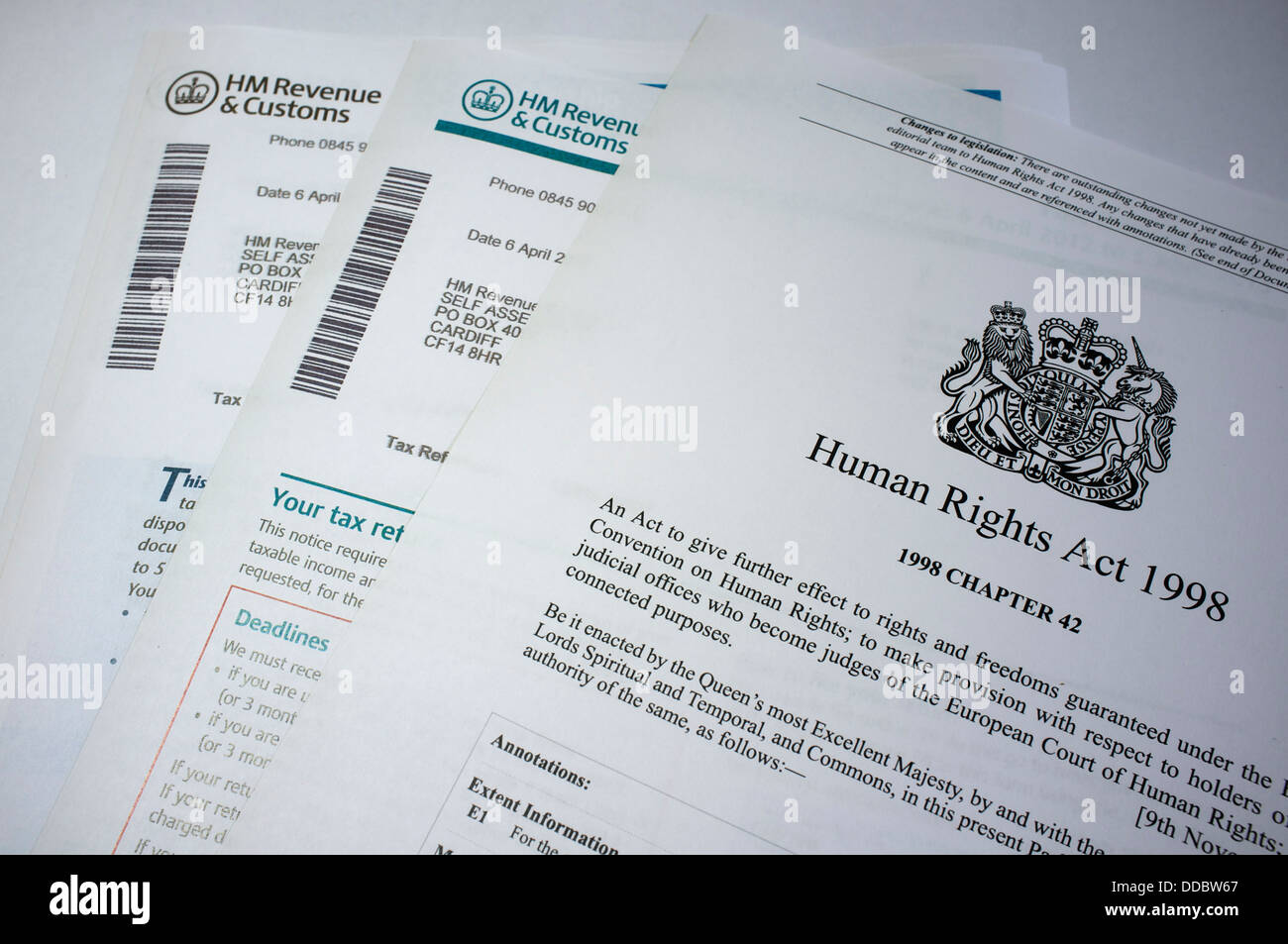 Hmrc Income Tax Calculator >> Hmrc Forms Stock Photos & Hmrc Forms Stock Images - Alamy