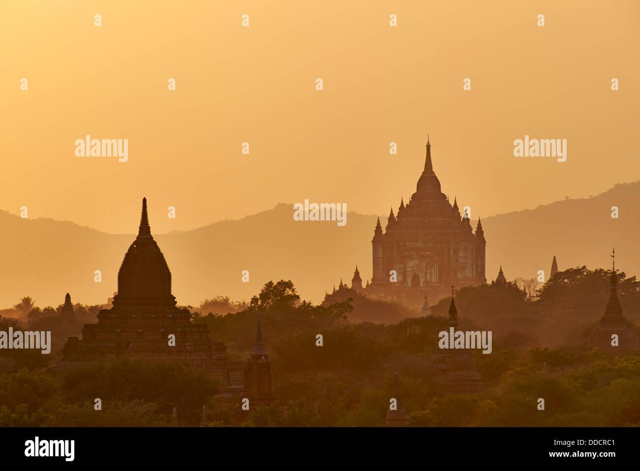Myanmar (Burma), Mandalay Province, Pagan or Bagan, Unesco world heritage - Stock Image