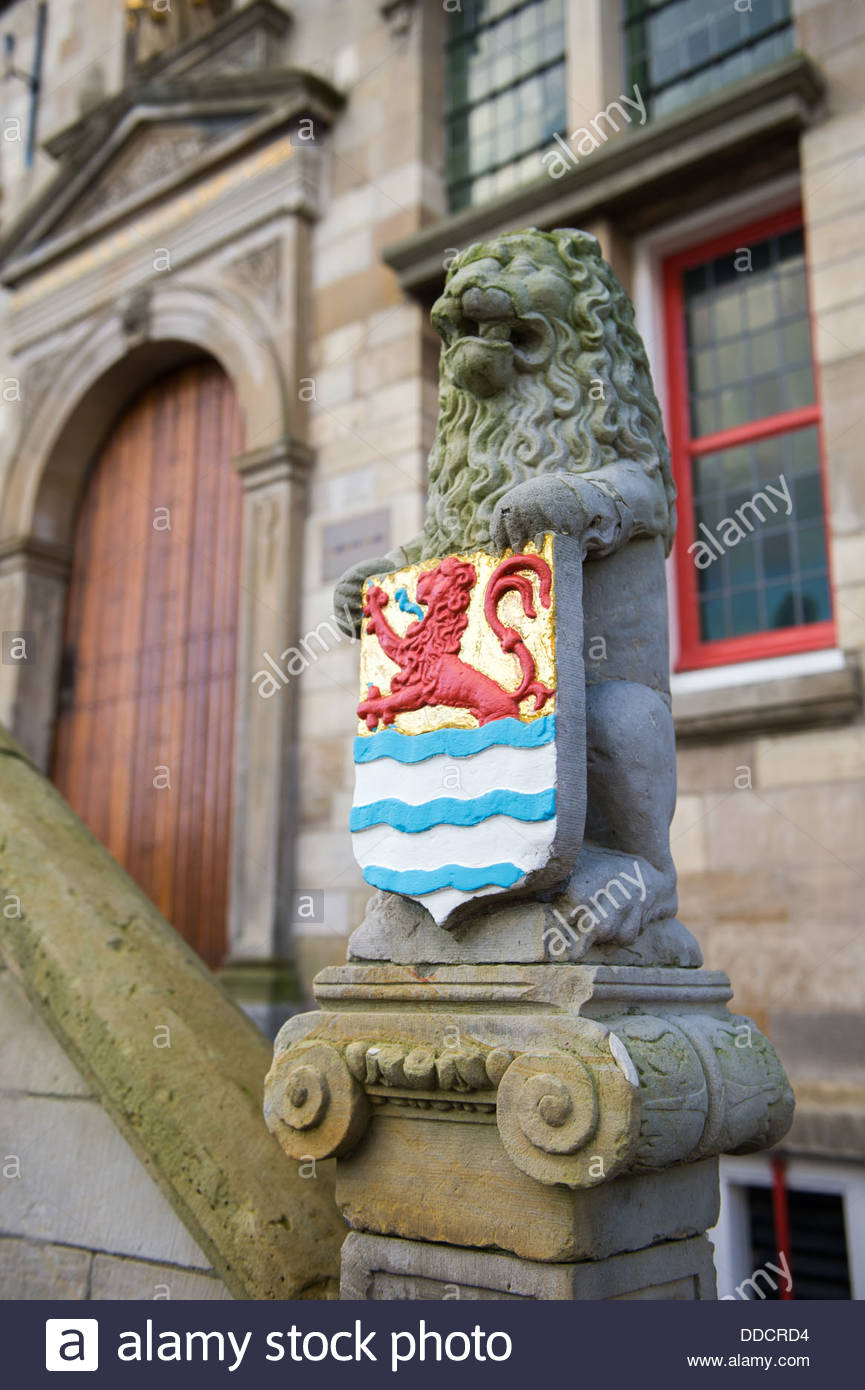 Dutch province of arms - Stock Image