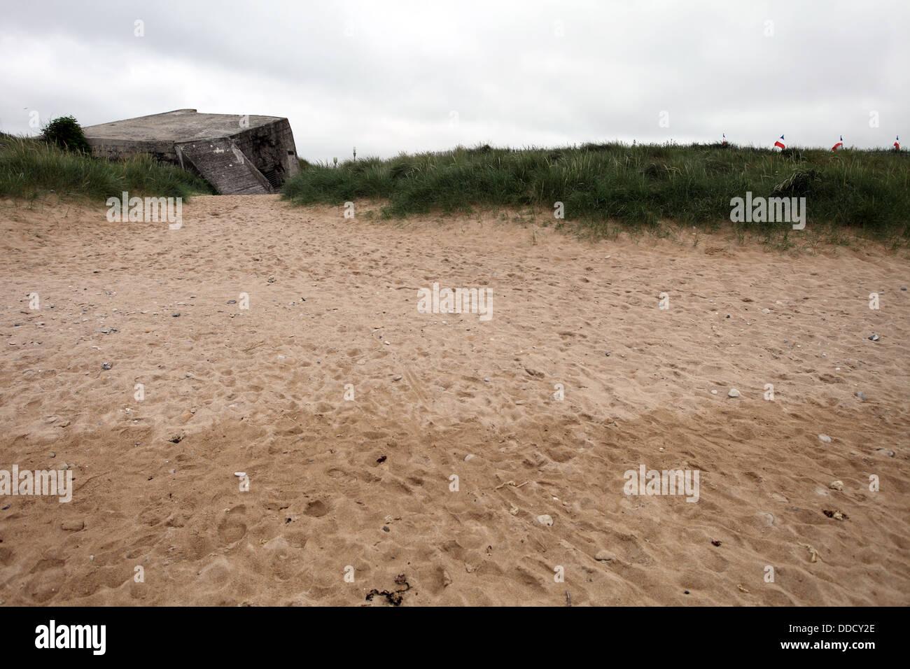 Juno Beach Courseulles-sur-Mer, Normandy, France - Stock Image