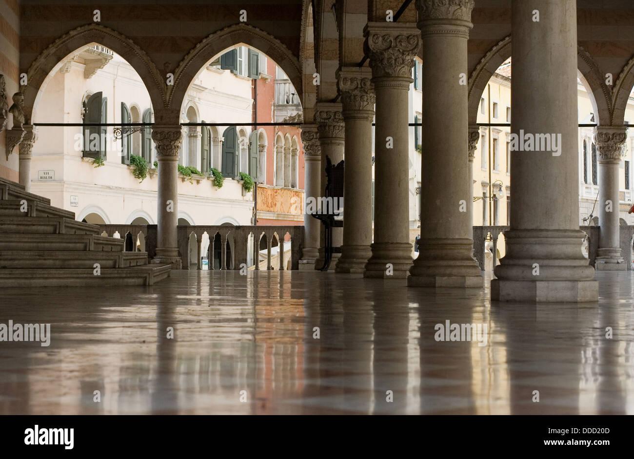 Udine, center - Stock Image