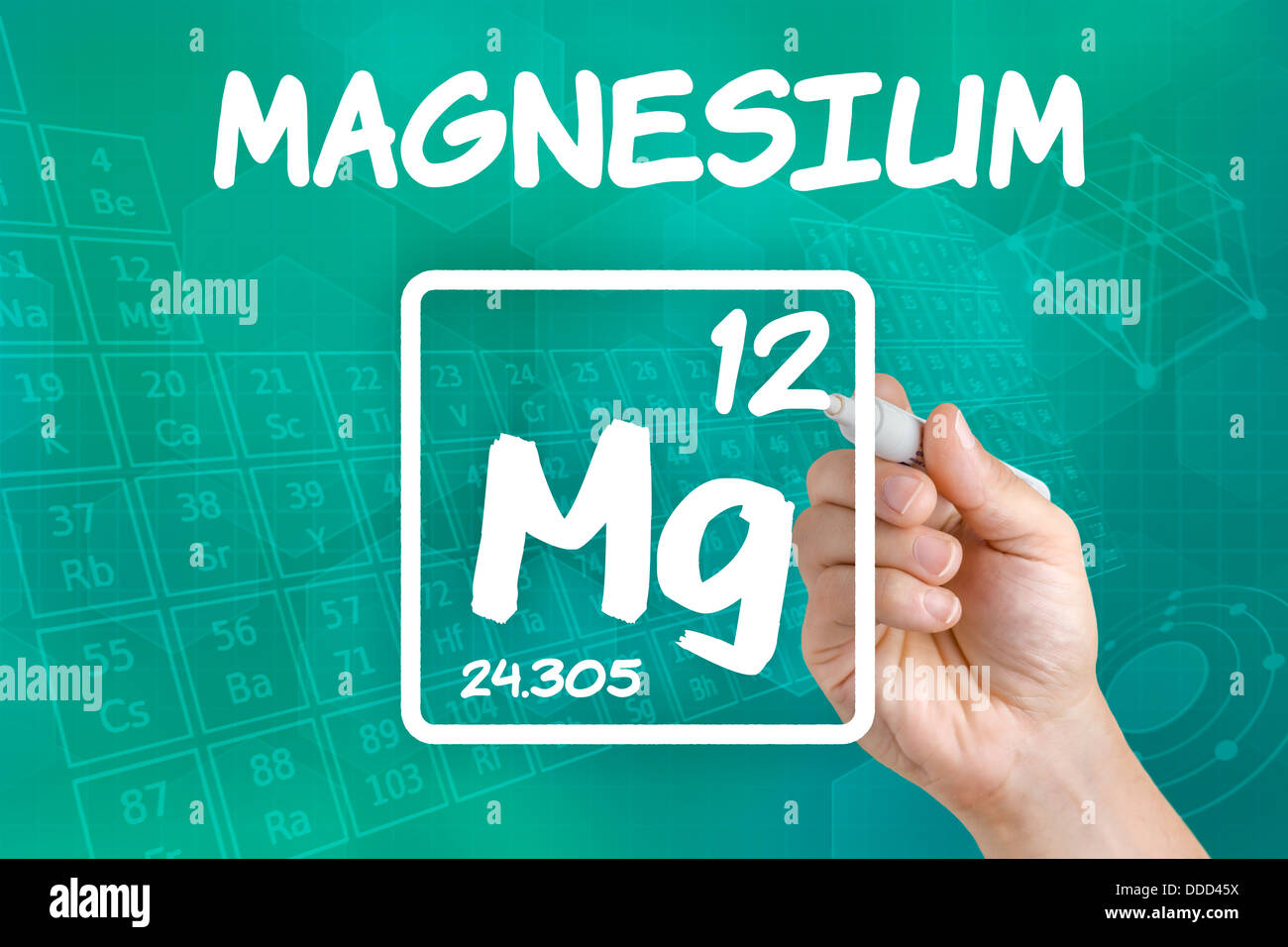 Chemical Symbol Mg Stock Photos Chemical Symbol Mg Stock Images