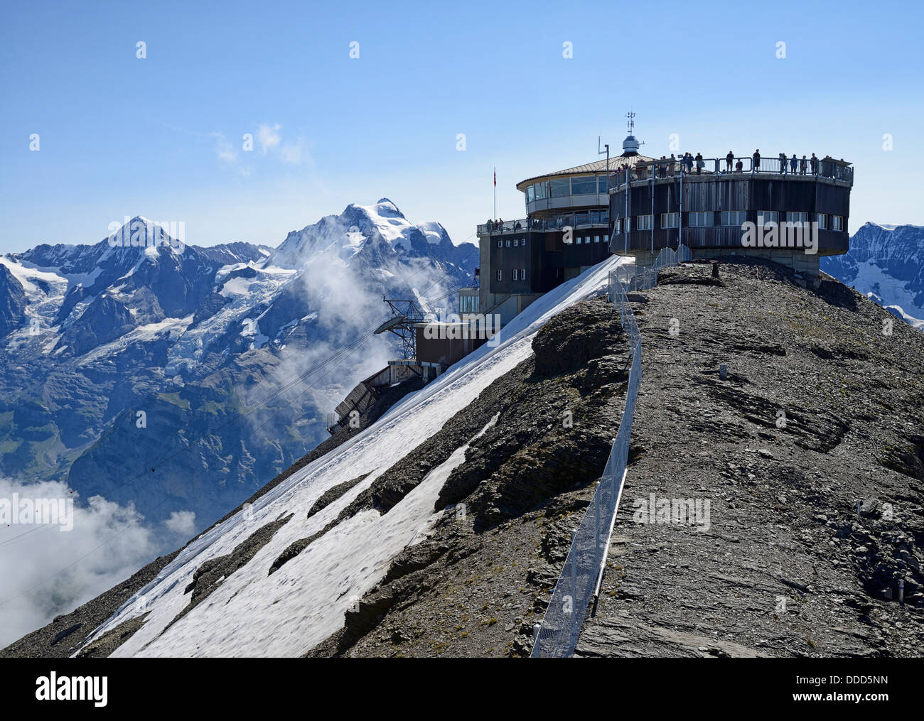 schilthorn piz gloria used as location in the james. Black Bedroom Furniture Sets. Home Design Ideas