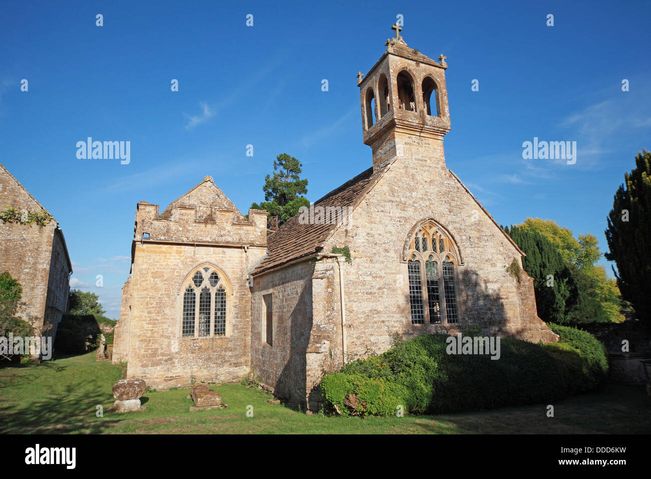 St Andrews Church, Brympton D'Evercy, Odcombe, Near Yeovil, Somerset, South West England, - Stock Image