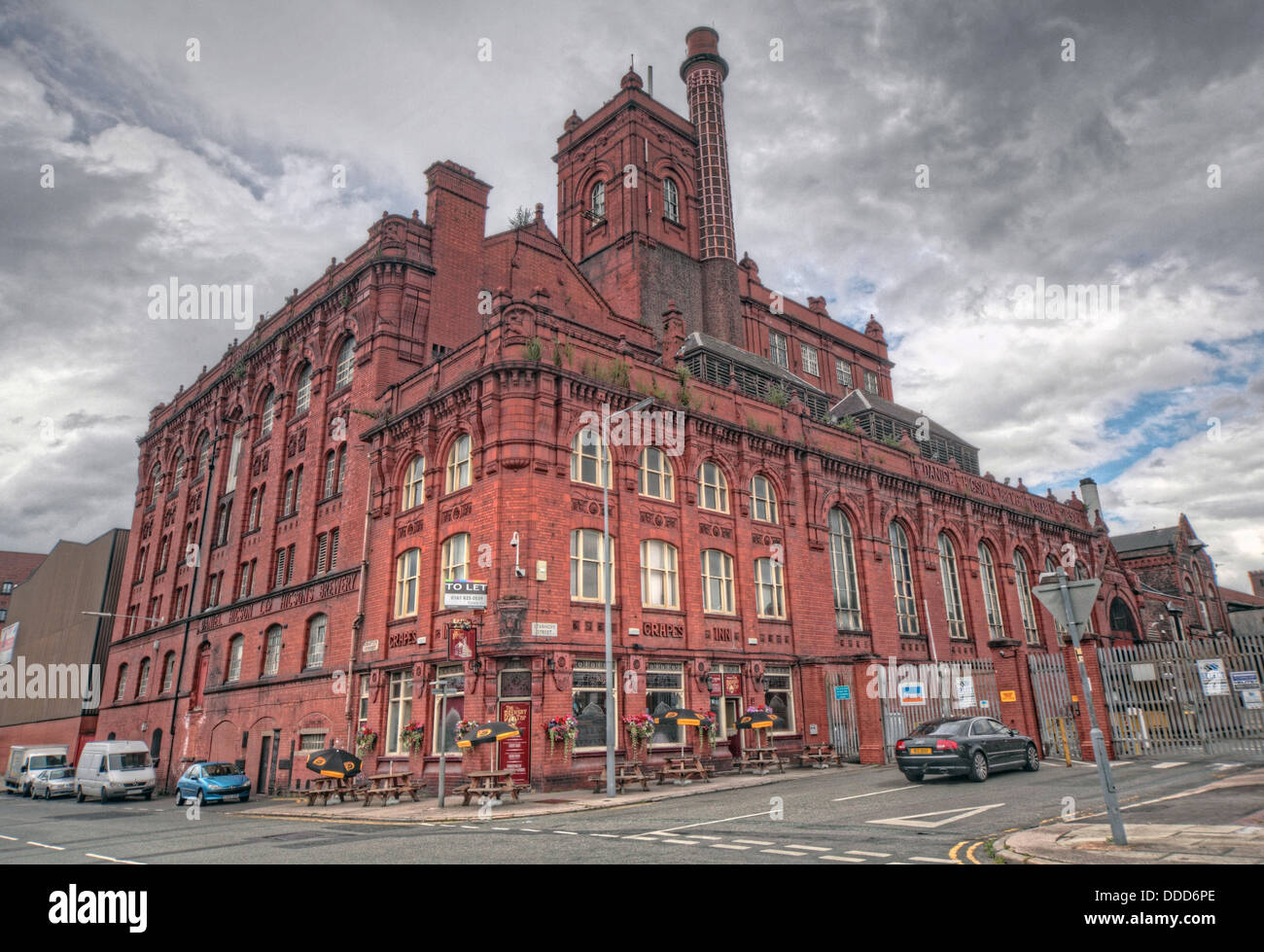 The old Higson Brewery, Liverpool - Stock Image