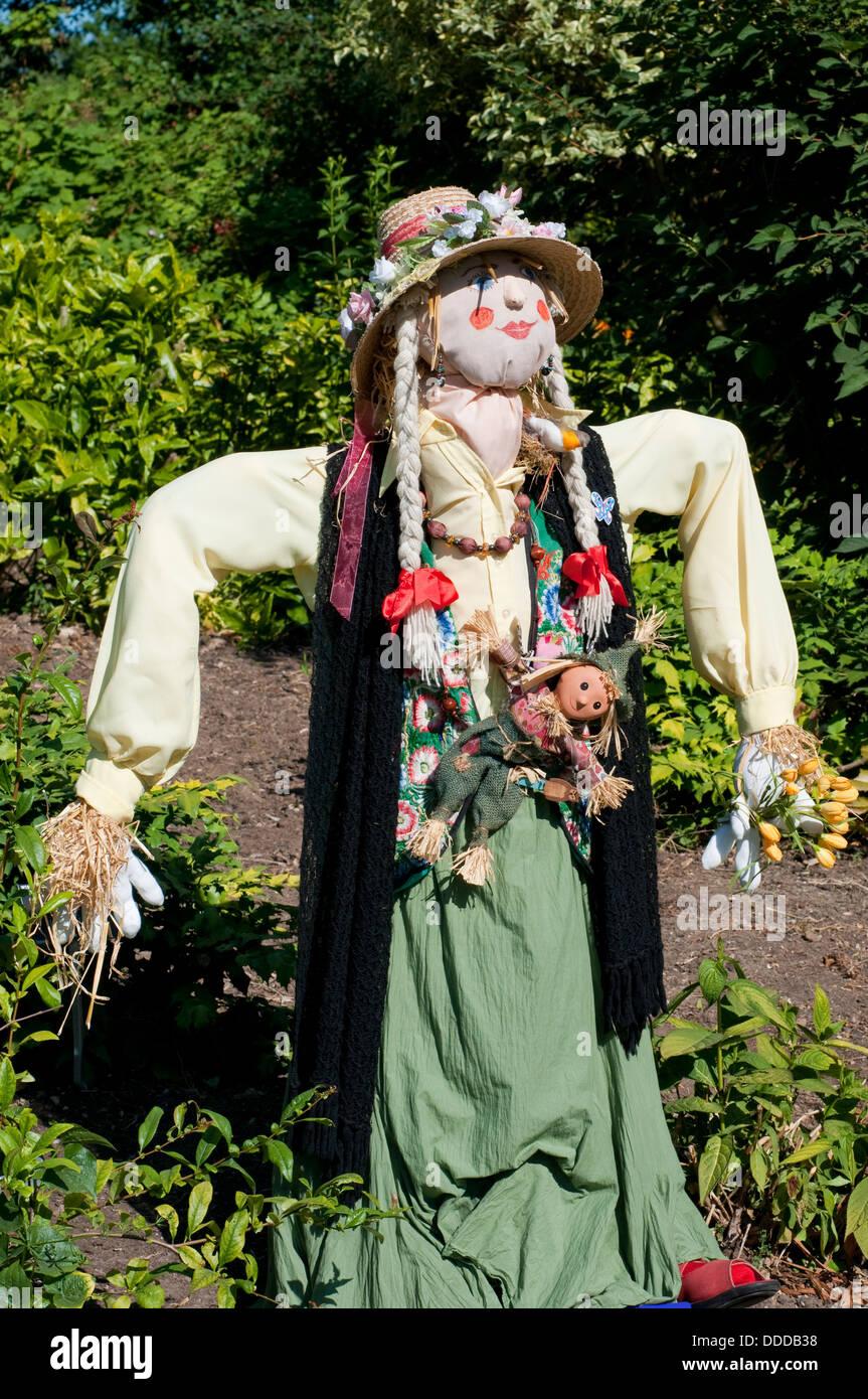 Imaginative Scarecrow - Stock Image
