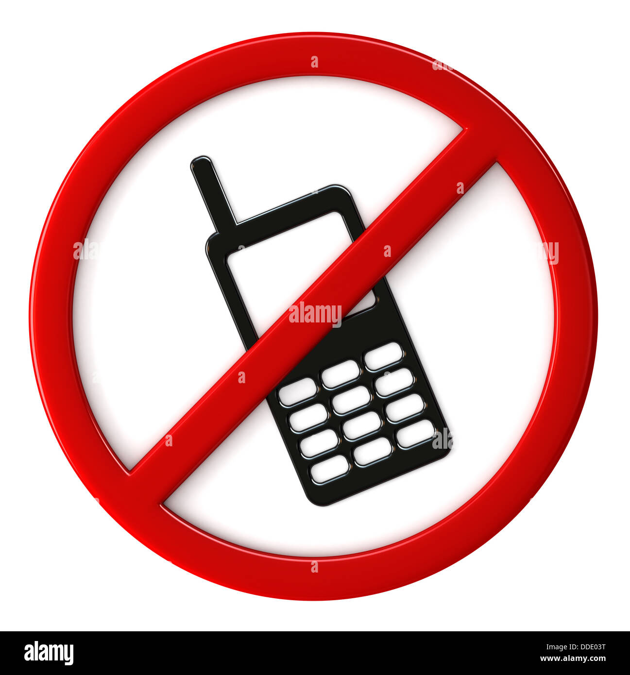 Cell phones not allowed sign Stock Photo: 59929068 - Alamy