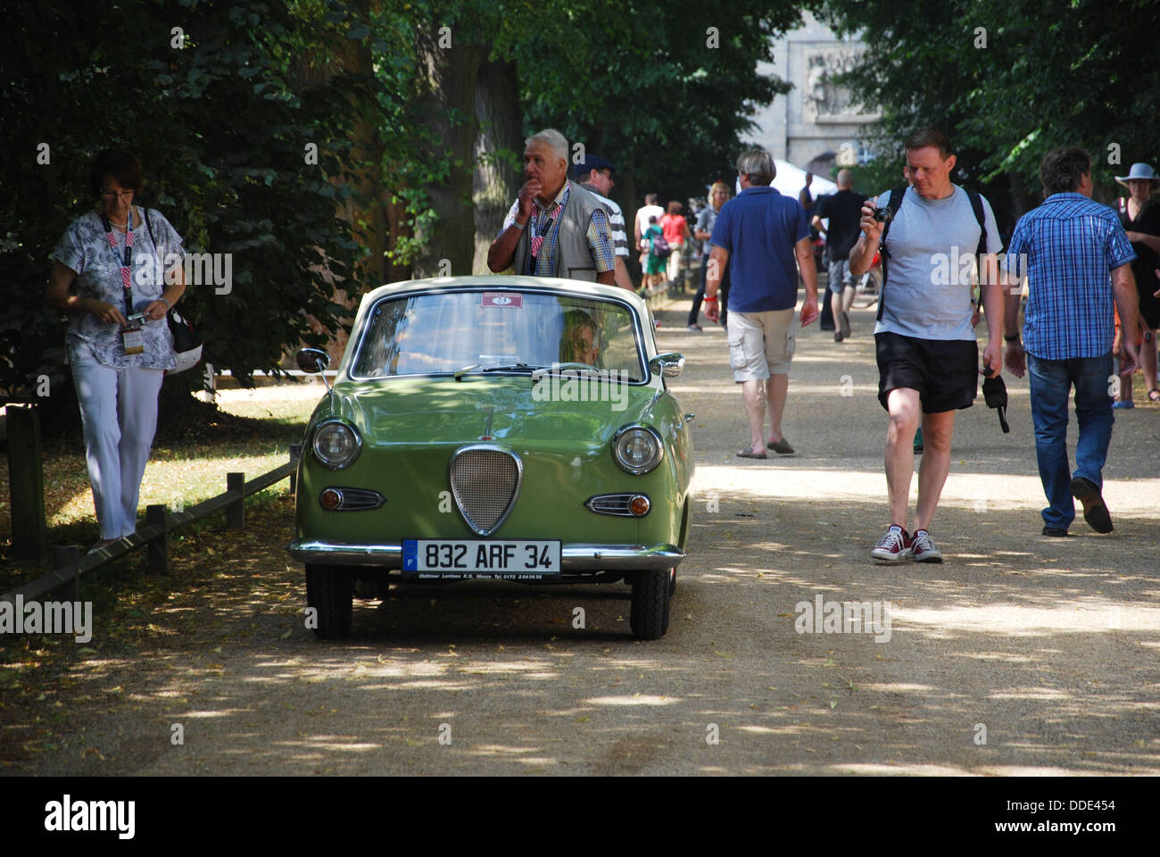 1958 Goggomobil TS 250 Coup At Classic Days 2013 Dyck Castle Near Dsseldorf North