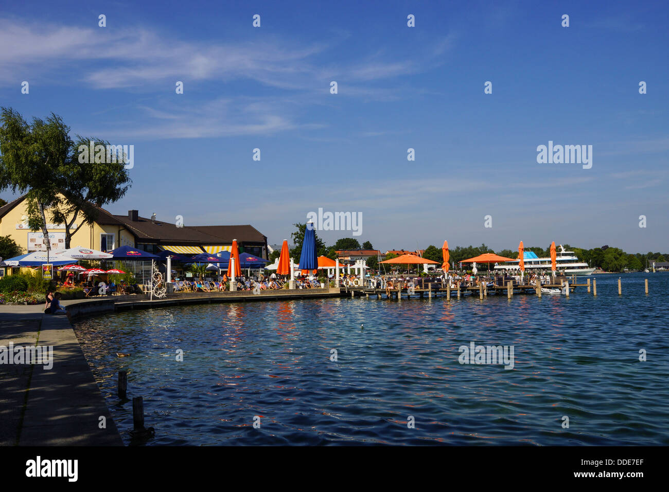 starnberg lake starnberg starnberger see bavaria upper bavaria stock photo 59934855 alamy. Black Bedroom Furniture Sets. Home Design Ideas