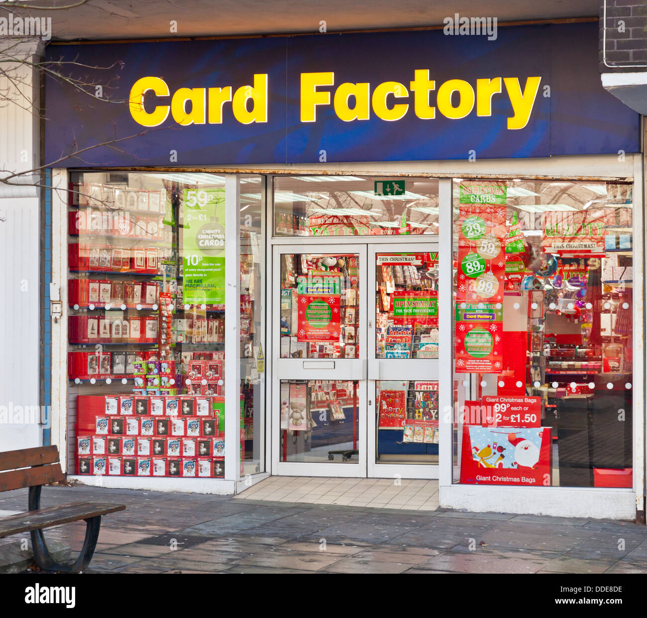 Frontage of the card factory a greetings card and gift shop chain frontage of the card factory a greetings card and gift shop chain this one located in airdrie lanarkshire scotland m4hsunfo