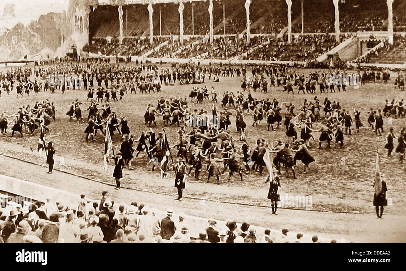 Liverpool Scouts Rally in 1919 - Stock Image