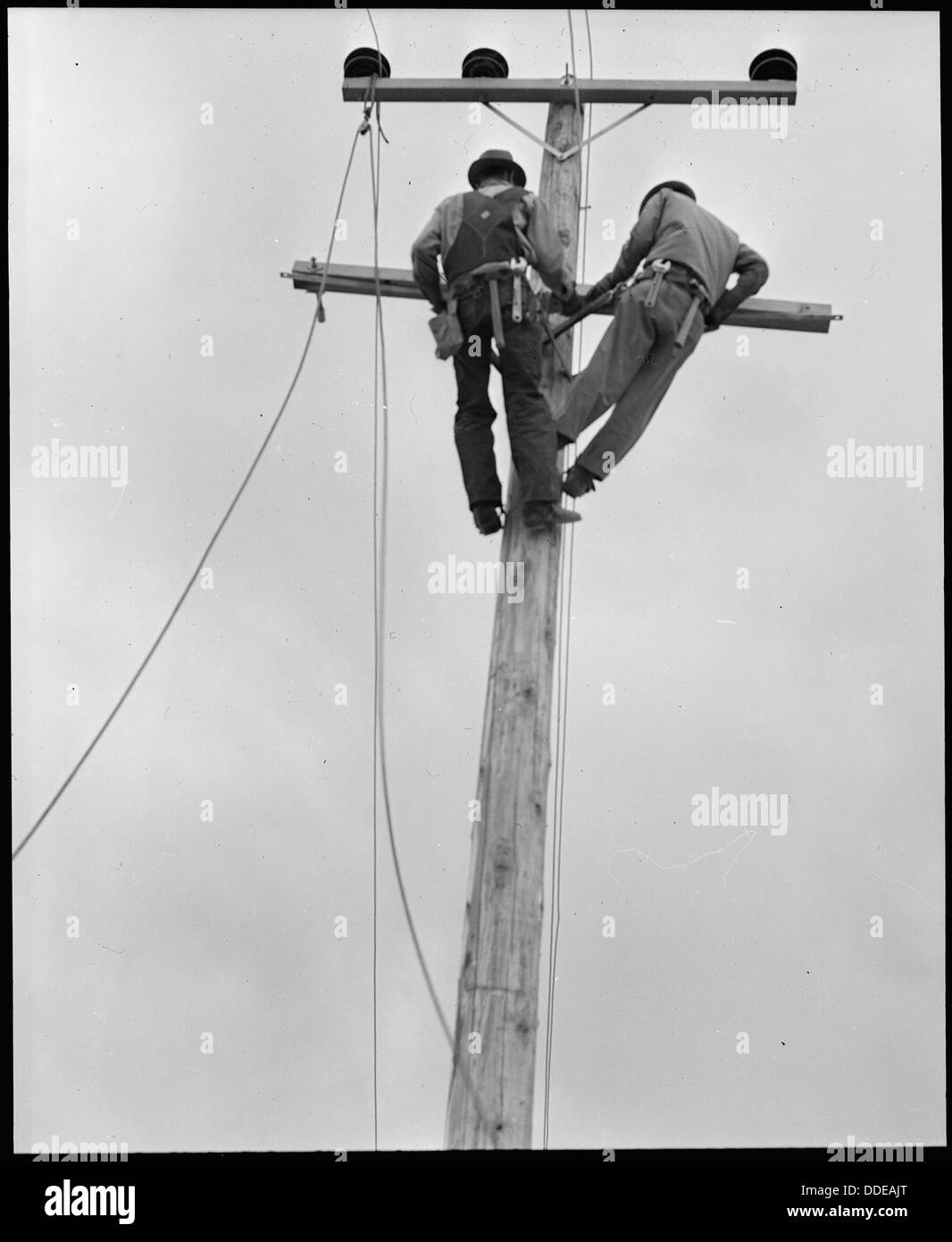 Electric Lighting Black and White Stock Photos & Images - Alamy