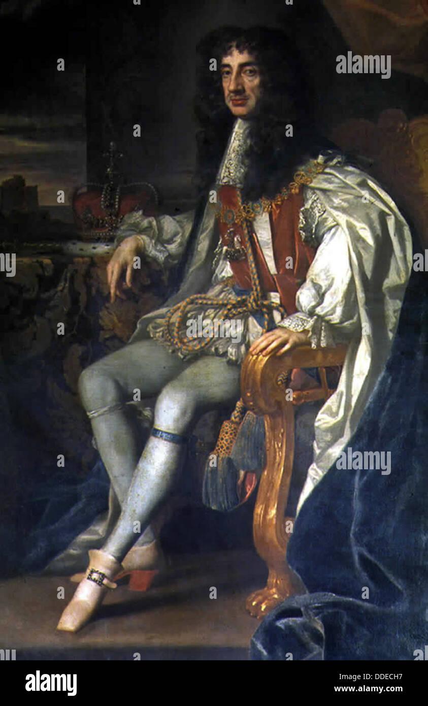 Charles II of England - Stock Image