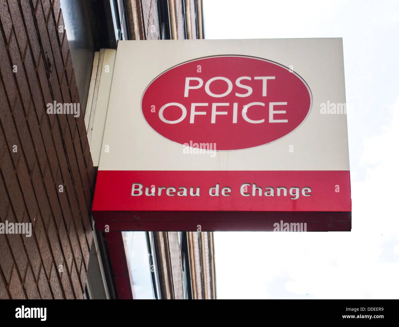 Bureau de change sign stock photos bureau de change sign stock