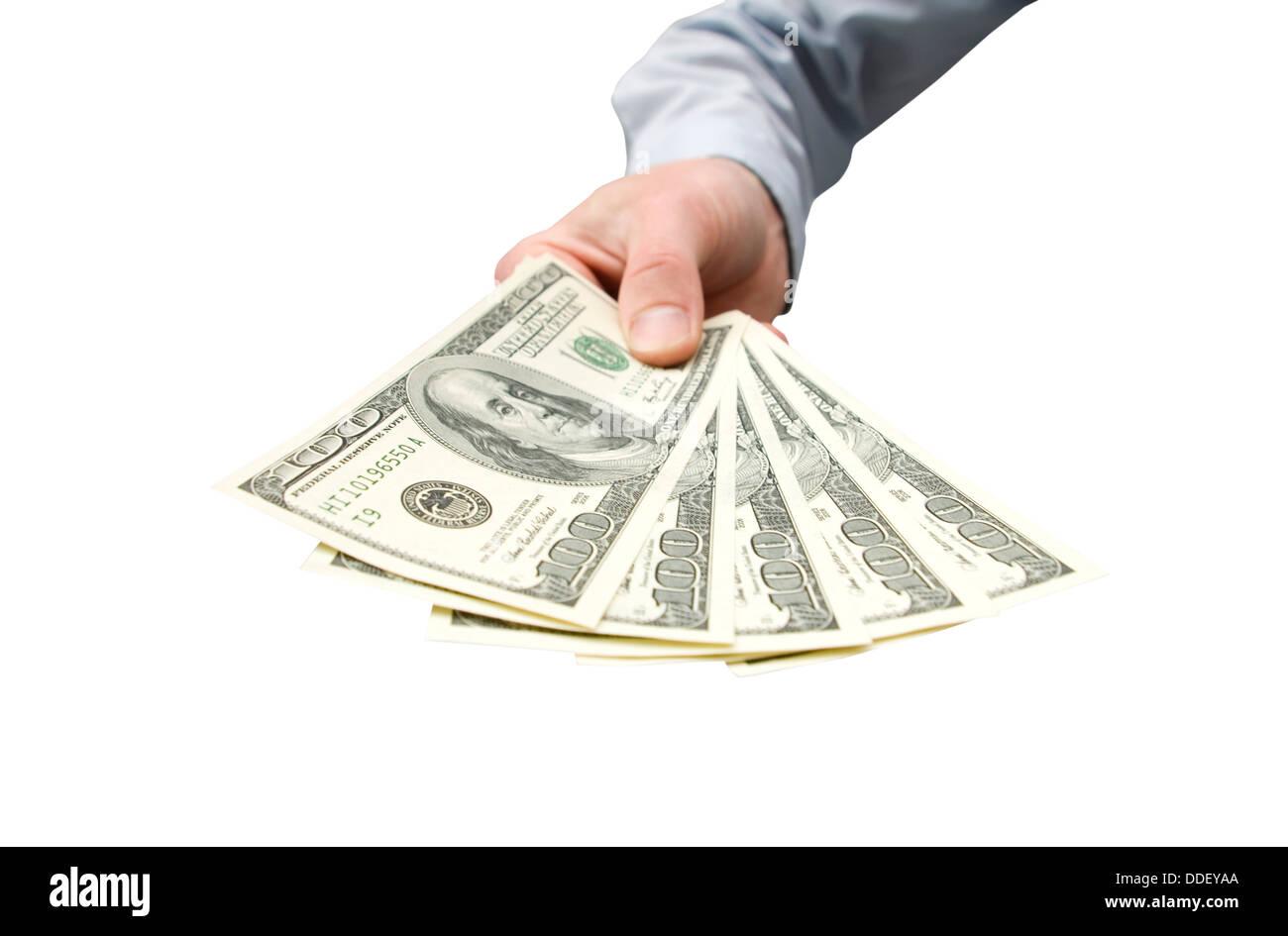 dollars - Stock Image