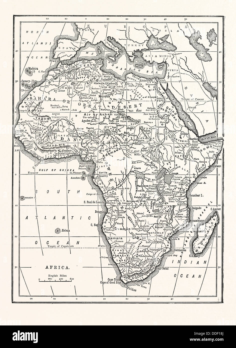 Map Of Africa Stock Photos & Map Of Africa Stock Images - Alamy Blank Map Of Afra on map of abia, map of africa, map of haiti,