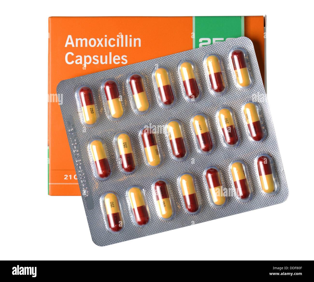 Penicillin antibiotic pill