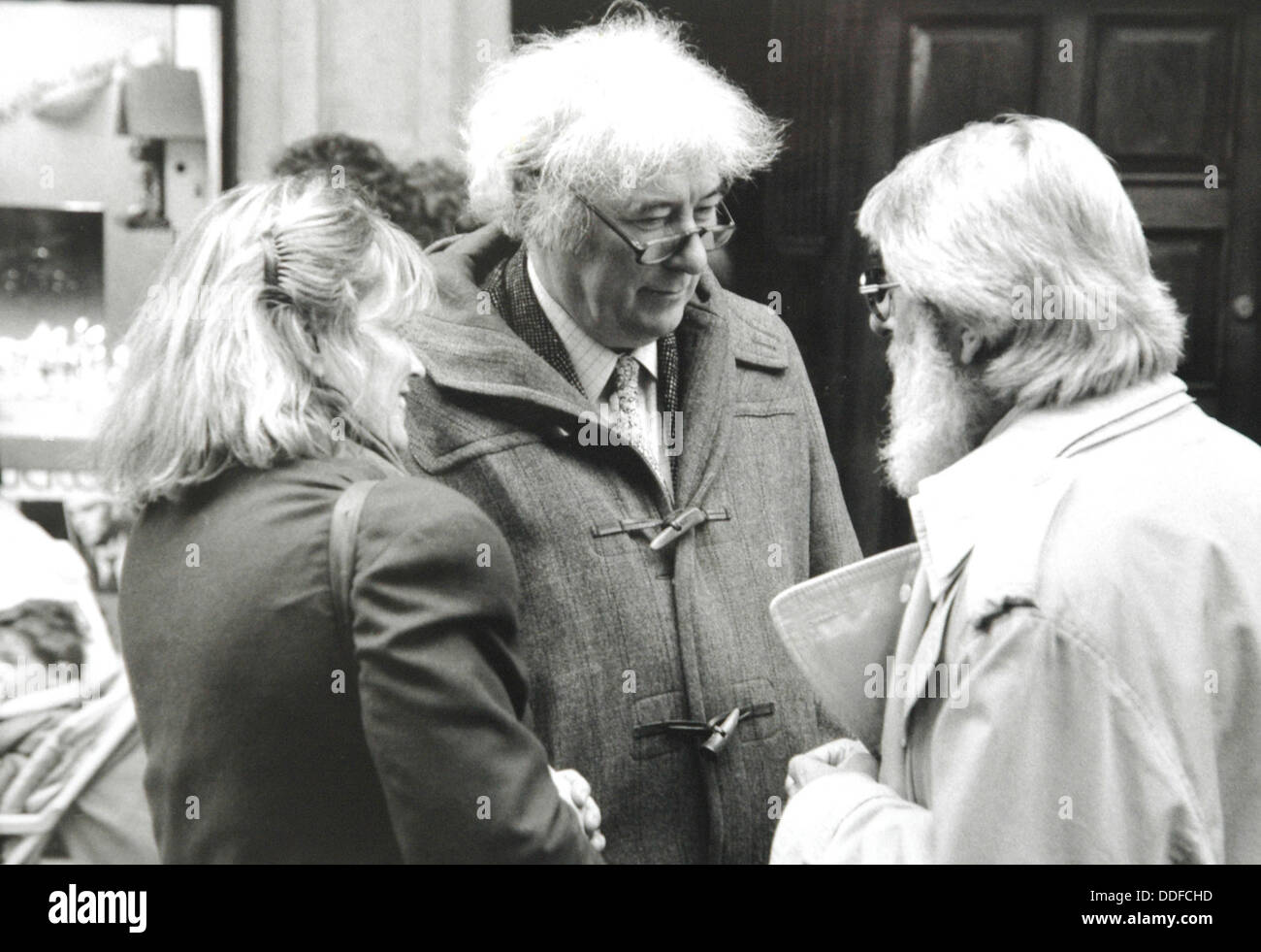 Seamus Justin Heaney, MRIA  Irish poet, playwright, translator, lecturer,  the recipient of the 1995 Nobel Prize - Stock Image
