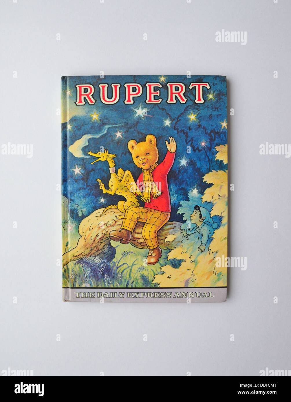 Daily Express Rupert Bear Annual No.44.1979, Surrey, England, United Kingdom - Stock Image
