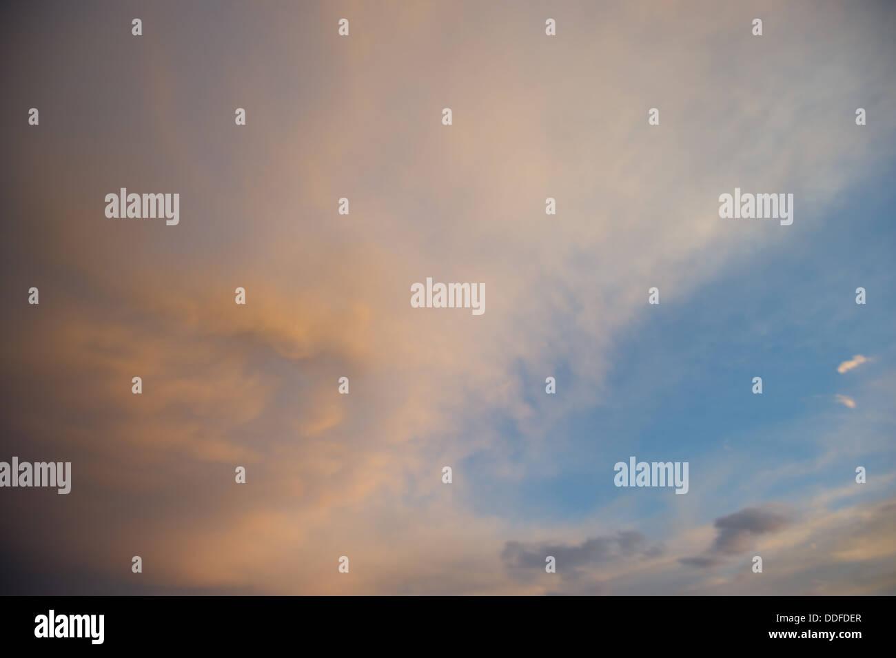Sunset Sky Grants Pass, Tucson Arizona - Stock Image