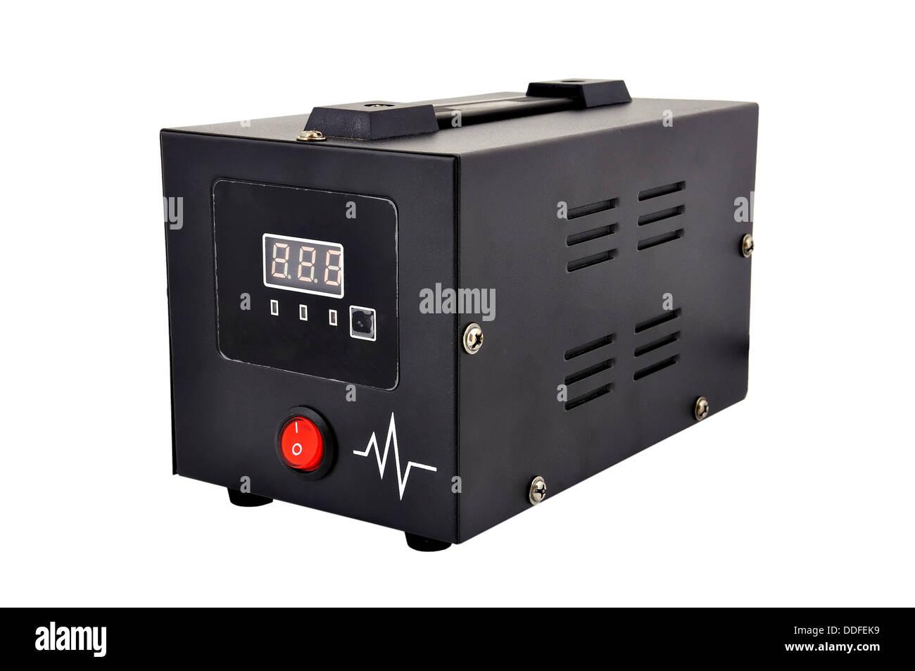 voltage regulator - Stock Image