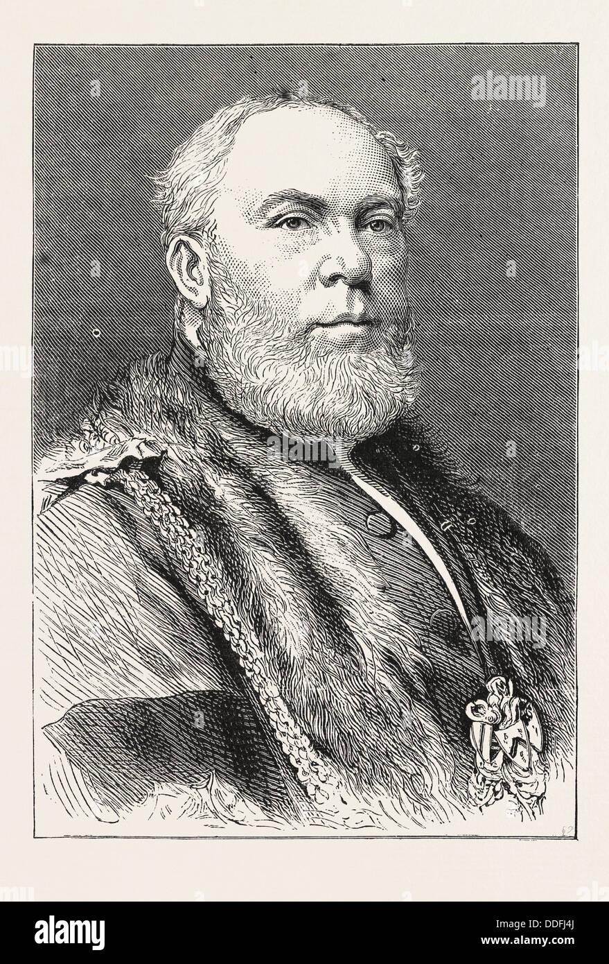 ALDERMAN SIR THOMAS WHITE Stock Photo