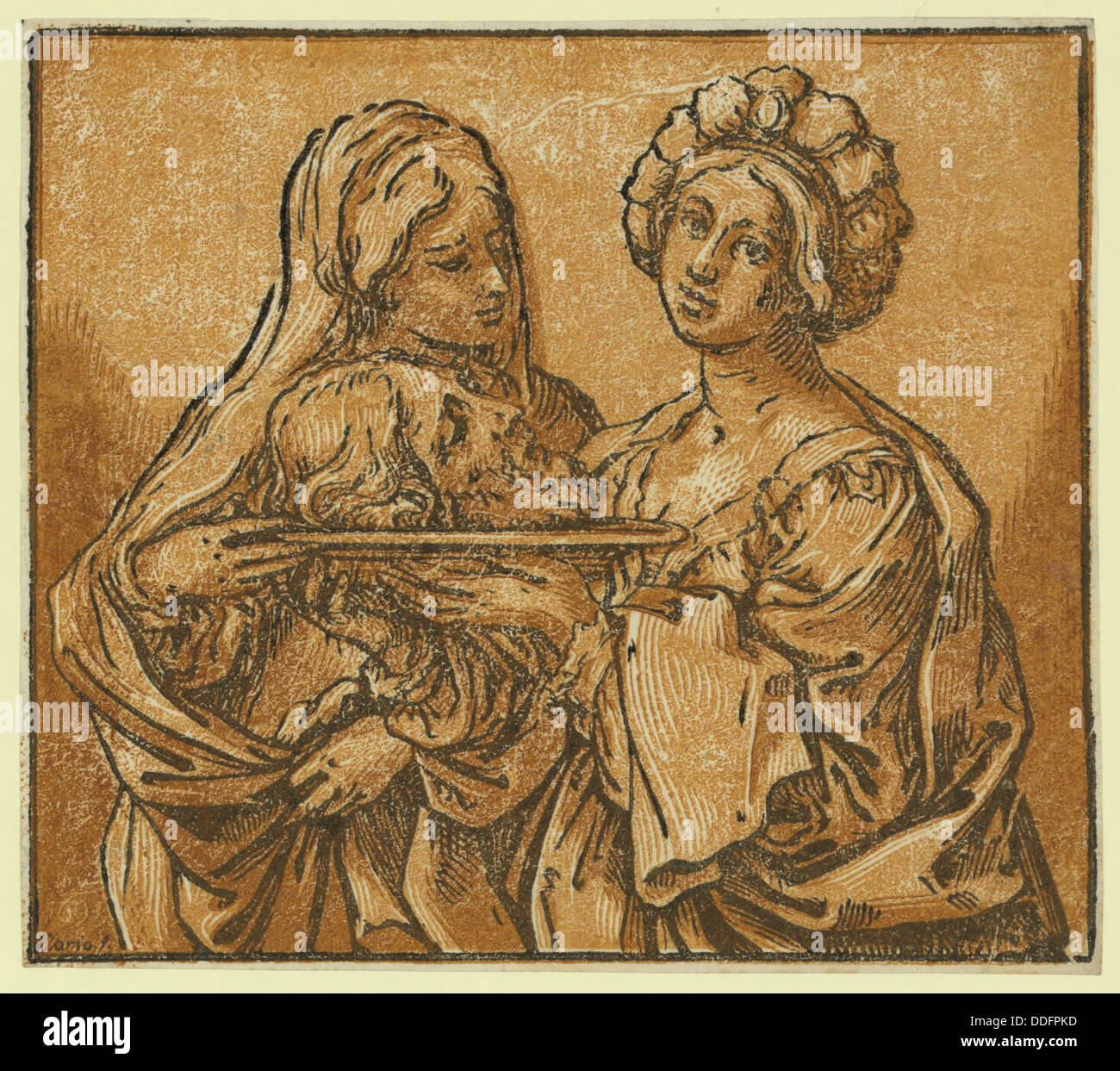 Herodiade, Coriolano, Bartolomeo, approximately 1599-approximately 1676 - Stock Image