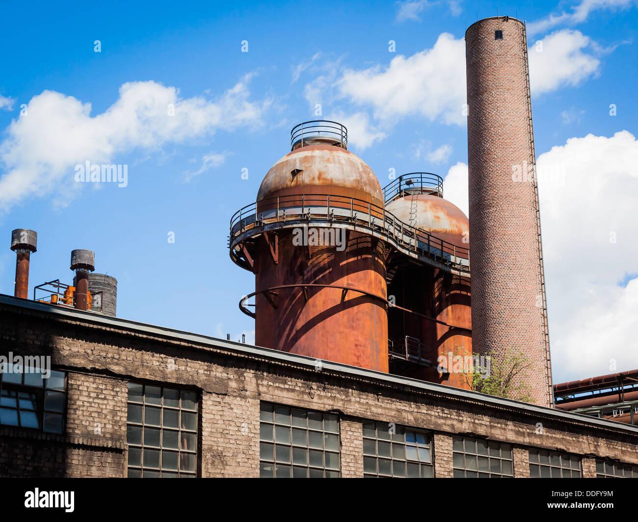 V├╢lklinger H├╝tte Saarland Germany Stock Photo