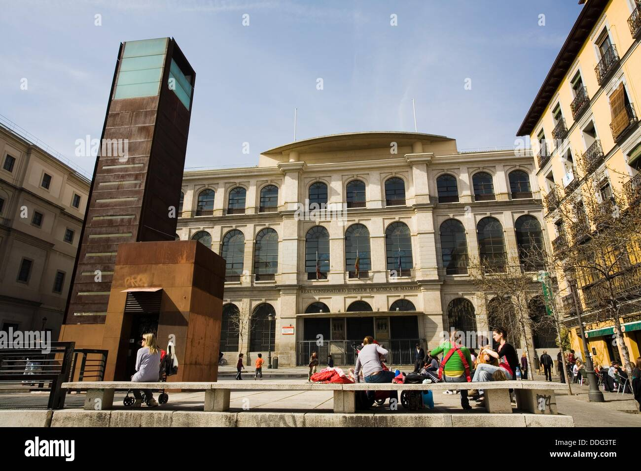 Real Conservatorio Superior De Musica Madrid Spain Stock Photo